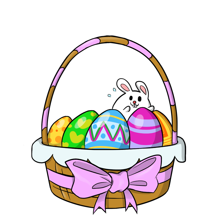 888x888 Monster Clipart Easter