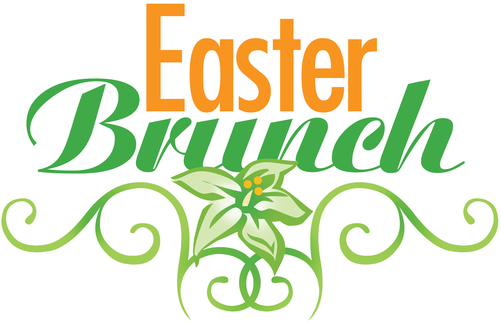 2100x1361 Breakfast Clipart Easter Breakfast