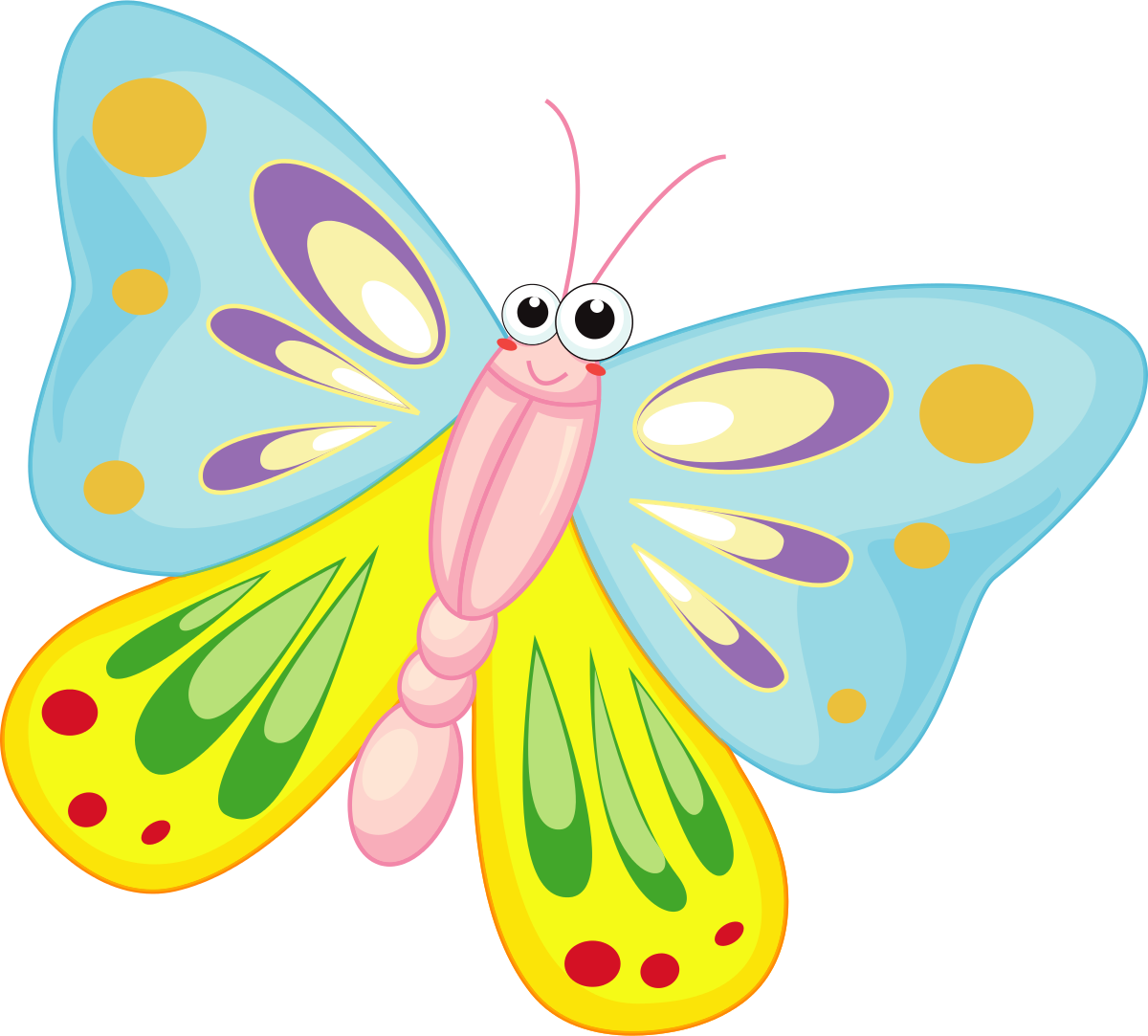 1200x1083 Butterfly Clipart