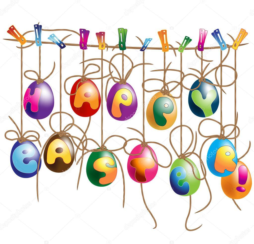 1023x980 Easter Egg Banner Clip Art