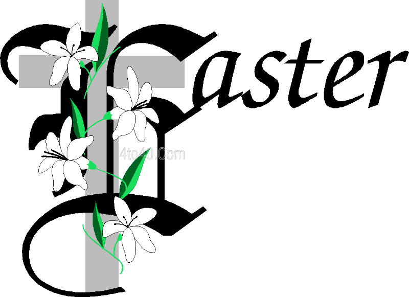 800x581 Catholic Easter Clipart
