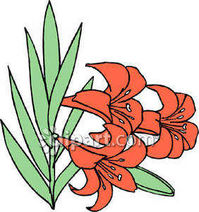 282x300 Lily Clipart Easter Sunday