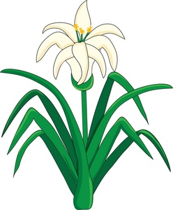 248x300 Easter Lilies Clipart