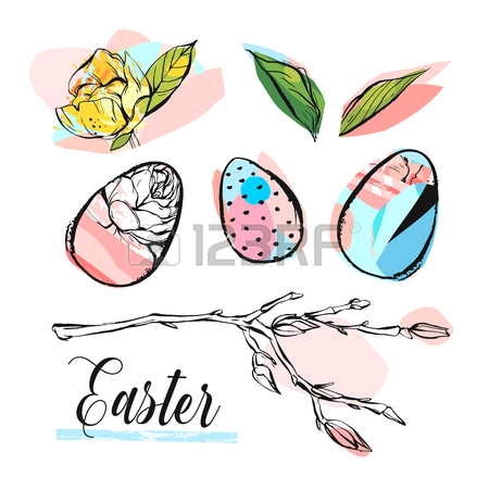 450x450 260 Easter Brunch Stock Vector Illustration And Royalty Free