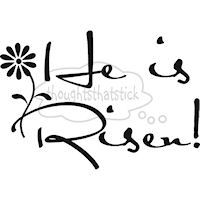 200x200 He Is Risen Clip Art Black And White Happy Easter 2017