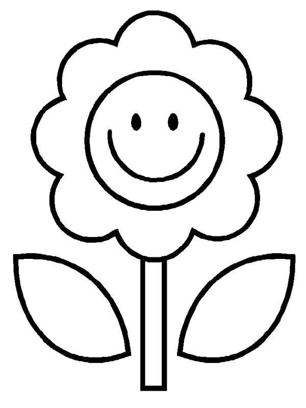 600x799 Easy Coloring Pages
