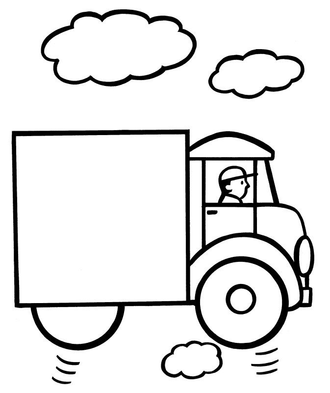 673x800 Easy Coloring Pages