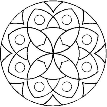 441x440 Easy Mandalas To Color Free Download Easy Mandalas To Color