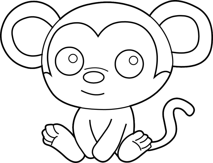 900x690 Printable Kids Coloring Pages 471 Print Free Easy Cow Drawing
