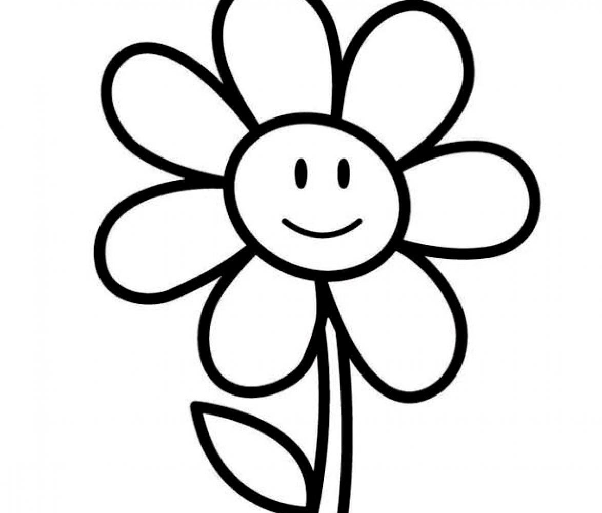 1174x1000 Sweet Download Free Coloring Page Flower Coloring Page Flower