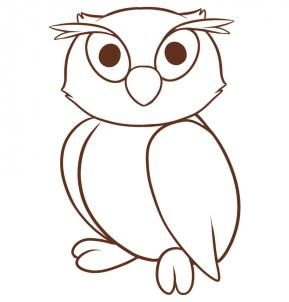 289x302 Best Draw An Owl Ideas How To Do Drawing, Owl