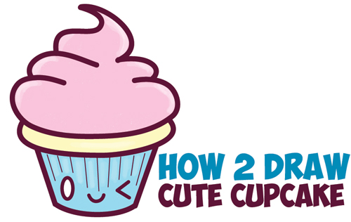 500x316 How To Draw Cute Kawaii Food