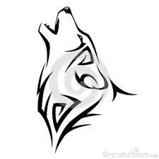 225x225 Best Simple Wolf Drawing Ideas Simple Wolf