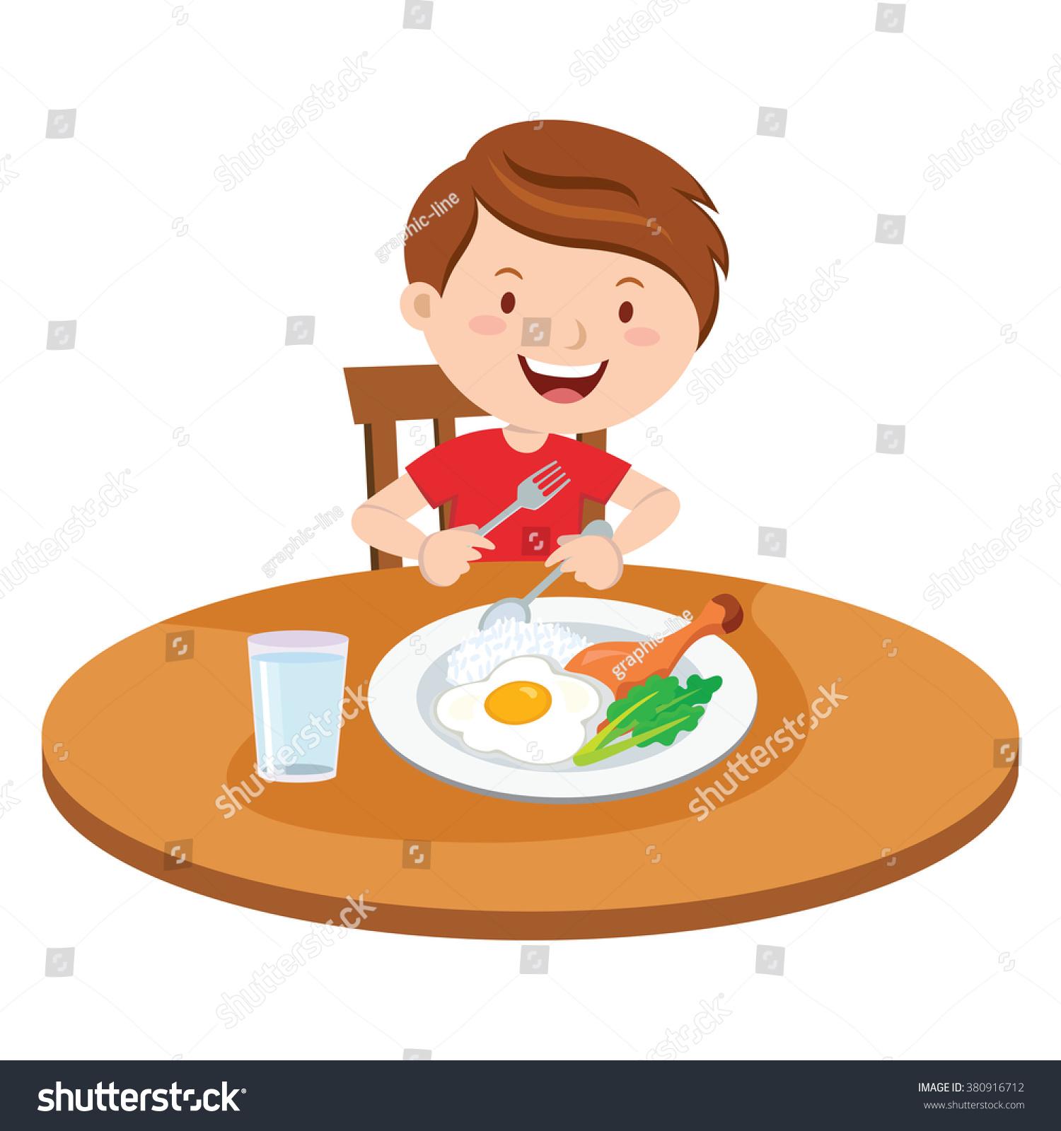 1500x1600 Breakfast Clipart Little Boy