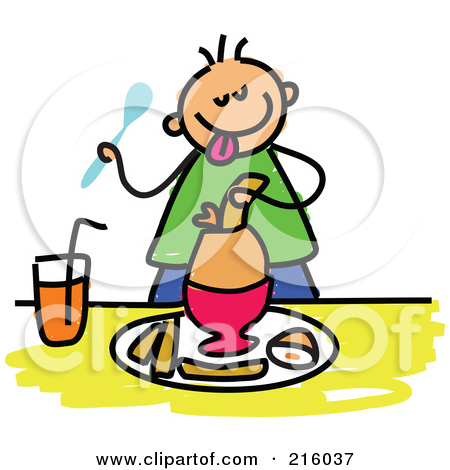 450x470 Person Eating Breakfast Clipart