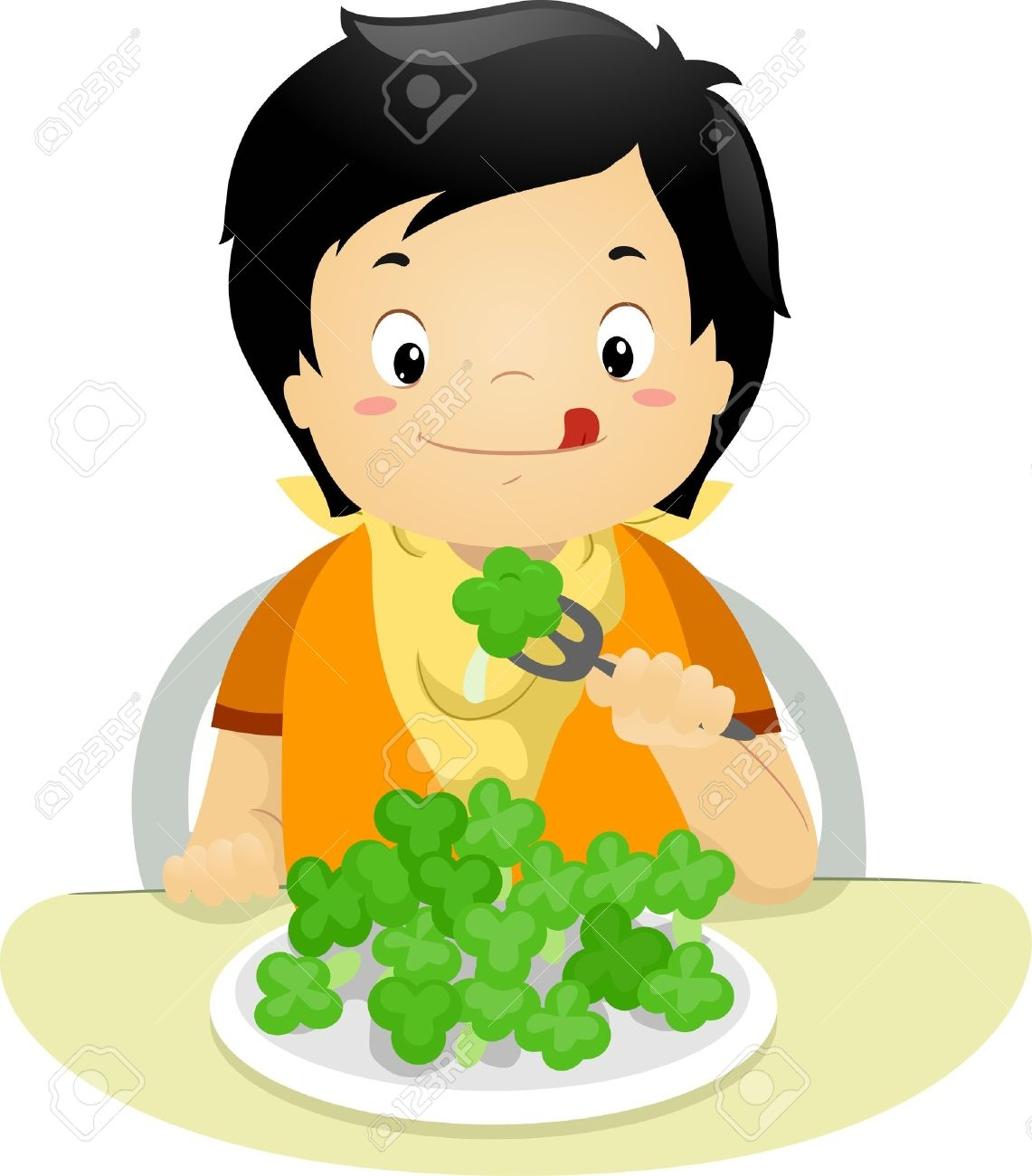 1141x1300 Kid Eating Dinner Clipart Clipartsgram