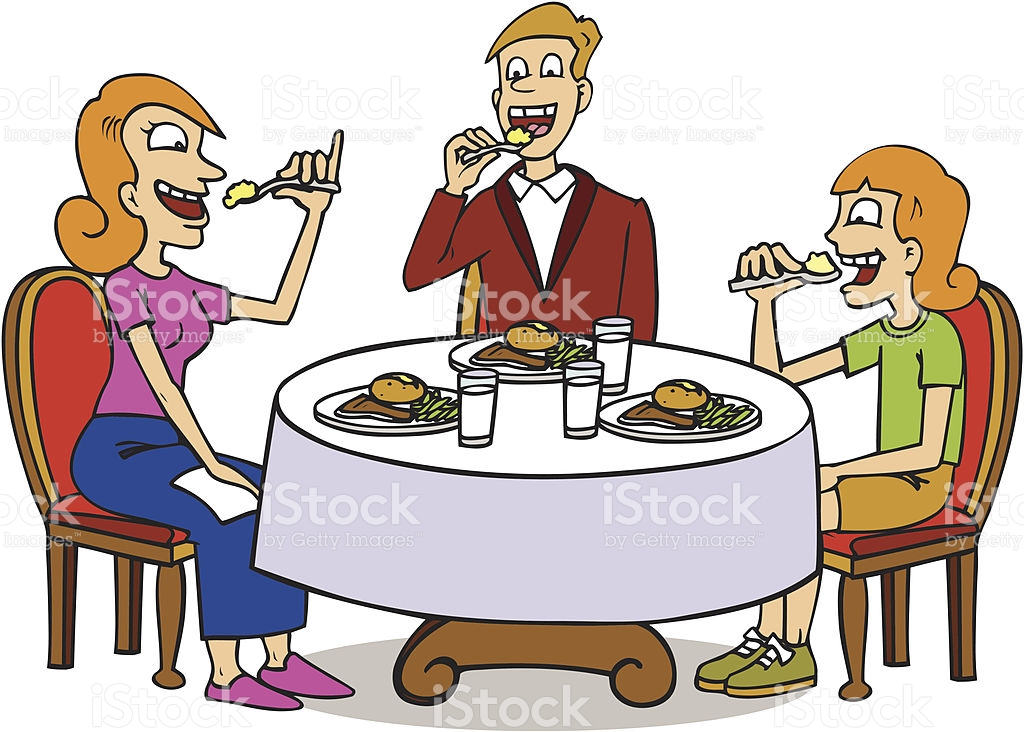1024x732 Cartoon People Eating Collection