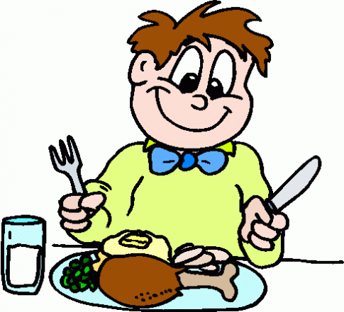 485x441 Clip Art Eating Healthy Meal Cliparts