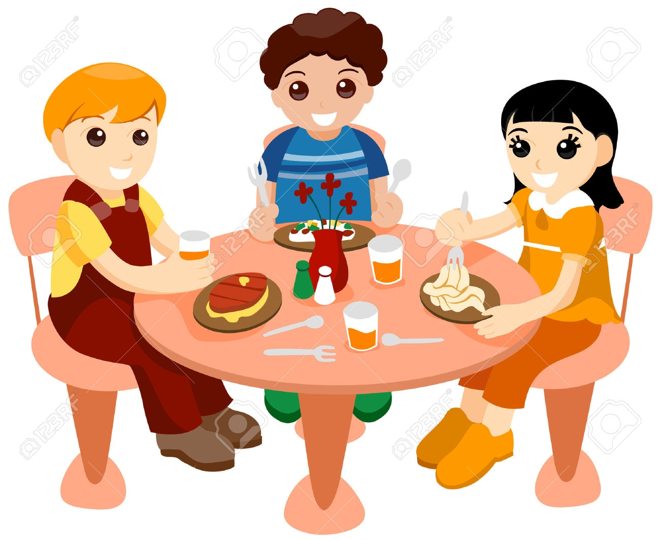 1300x1064 Diner Clipart Kids Eat