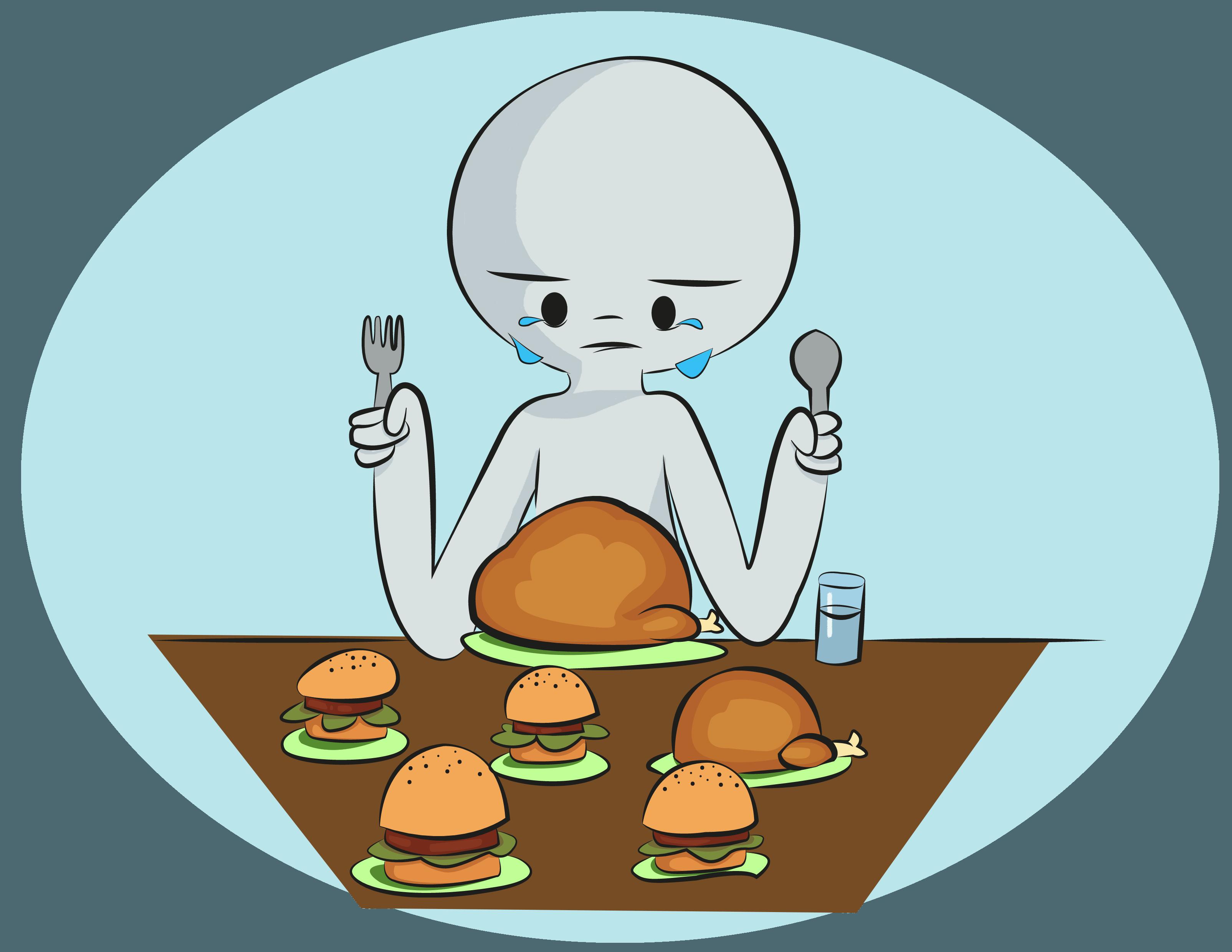 3209x2480 Binge Eating Disorder Clip Art Cliparts