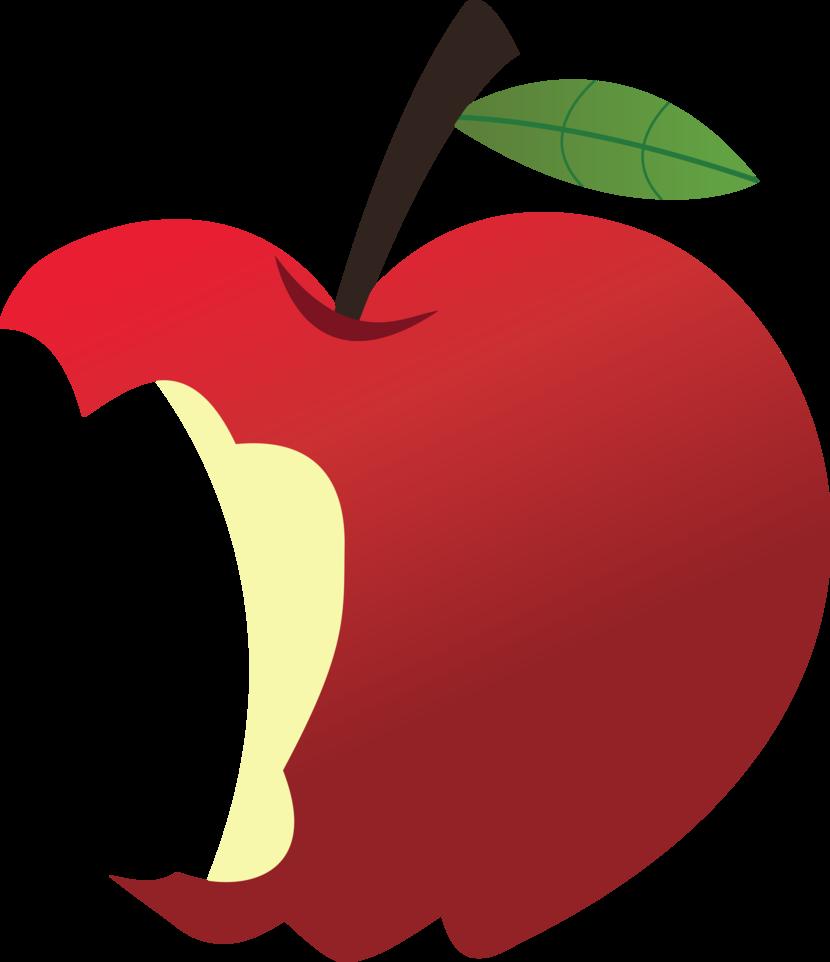 830x962 Eaten Apple Clip Art 101 Clip Art