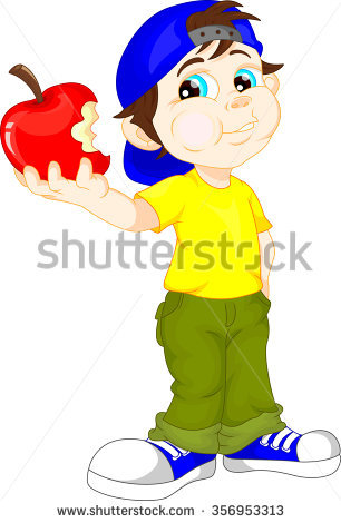 306x470 With Apple Clipart