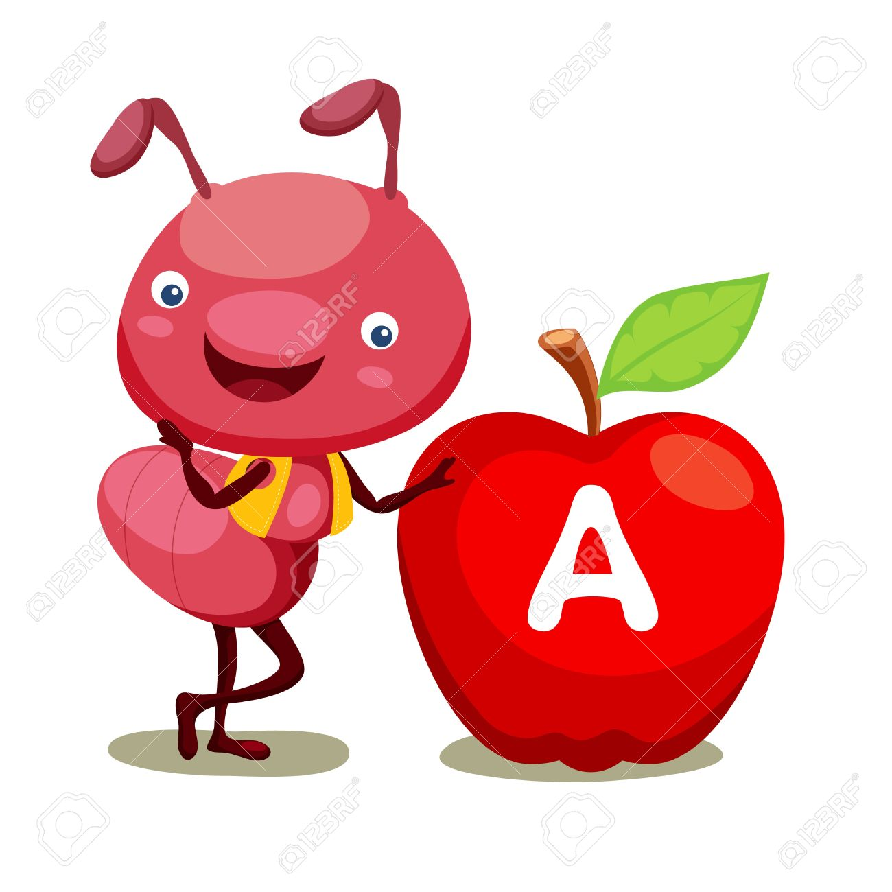 1300x1300 Apple Clipart Ant