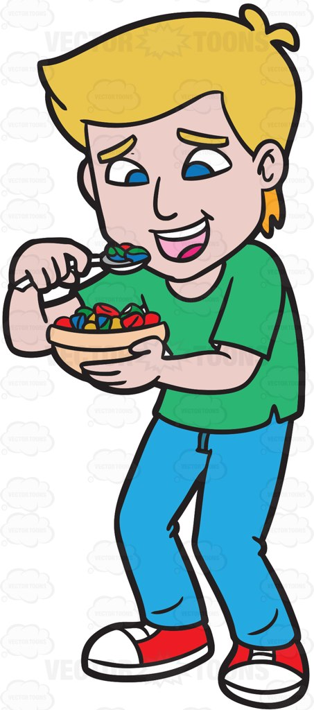 Eating Breakfast Clipart