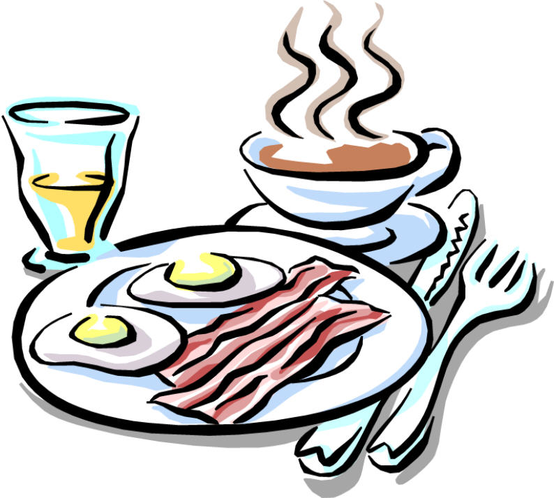 794x714 Eating Breakfast Clipart Free Clipart Images 2
