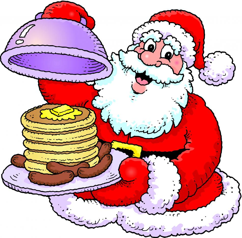 950x937 Free Breakfast With Santa Clipart