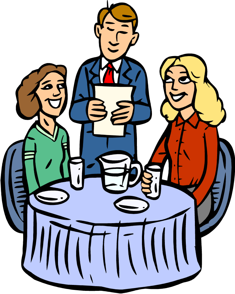 750x938 Family Eating Clipart Group