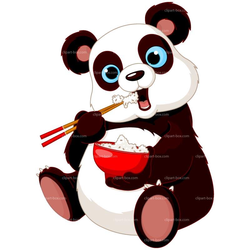 800x800 Panda Clip Art
