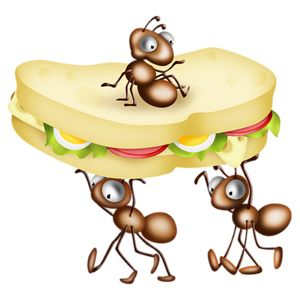 Eating Food Clipart