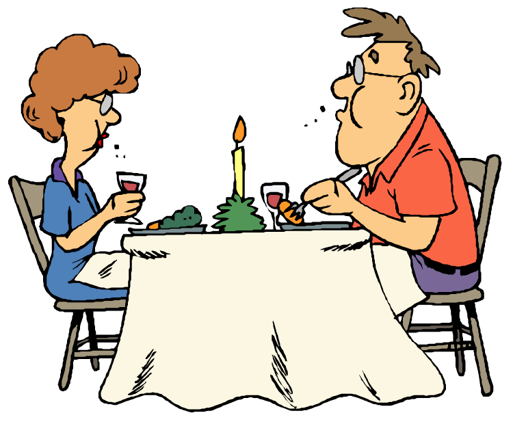 750x620 Clipart People Eating