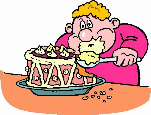 490x374 Eating Alot Of Food Clipart