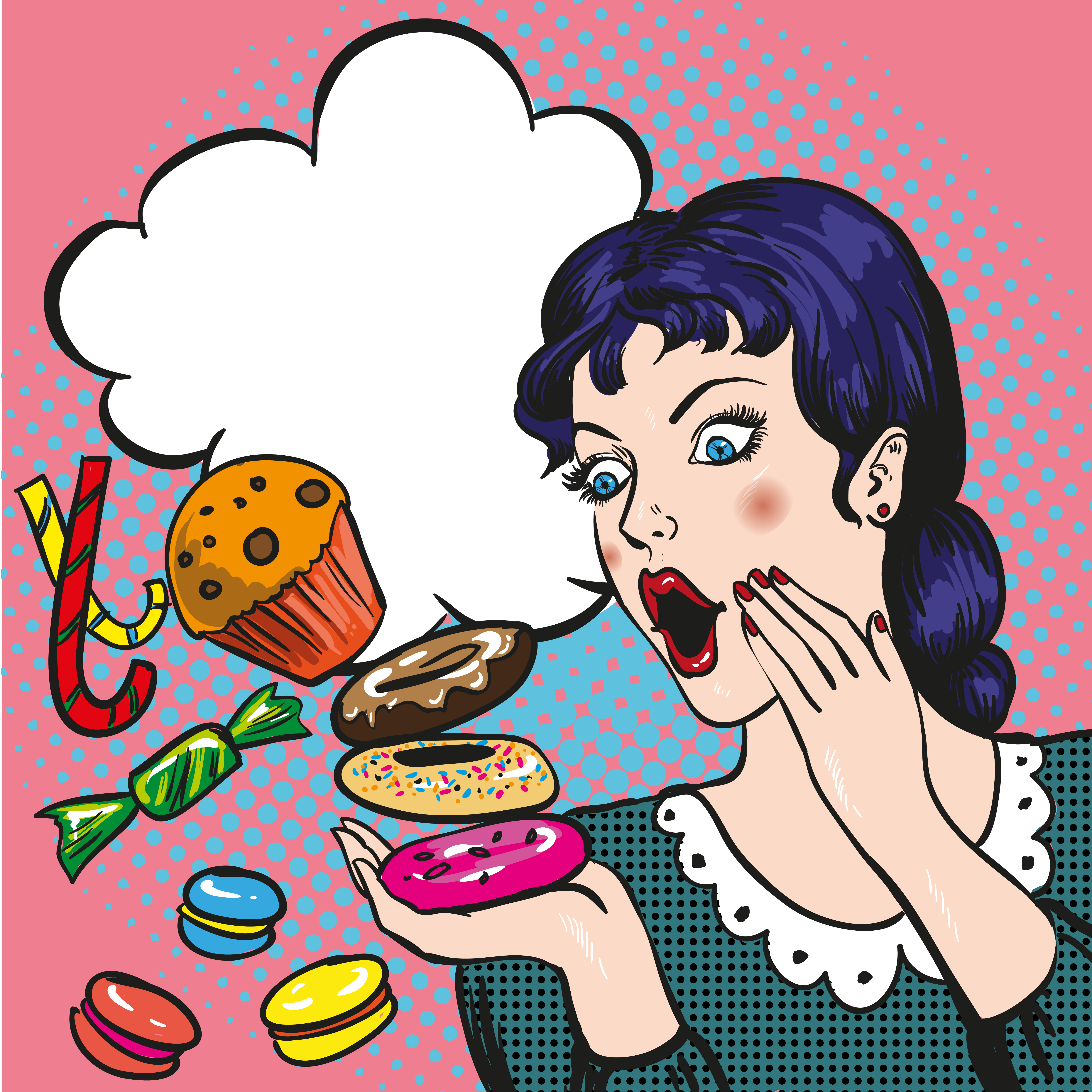 Eating Junk Food Clipart | Free download on ClipArtMag
