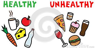 400x205 Unhealthy Food Clipart