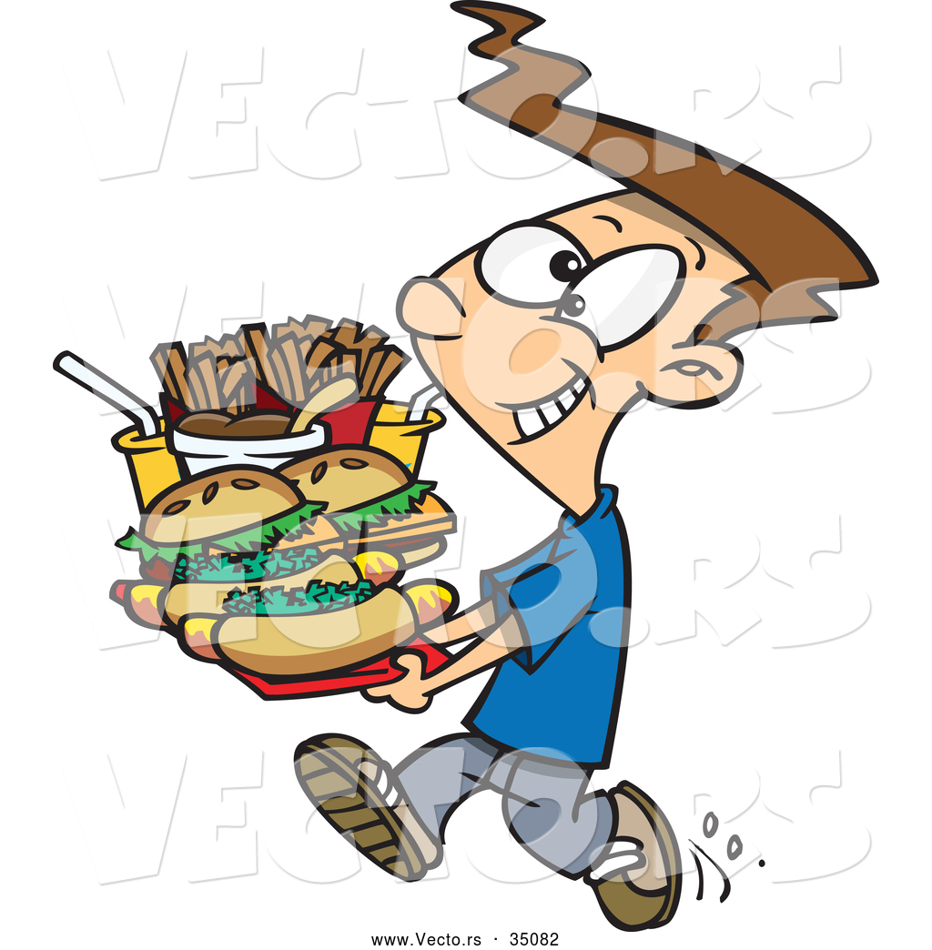 Eating Junk Food Clipart | Free download best Eating Junk