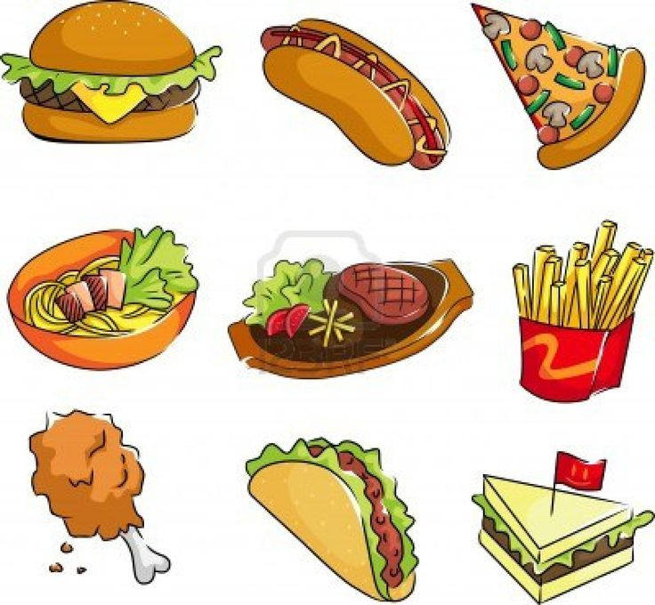 Eating Junk Food Clipart | Free download best Eating Junk ...