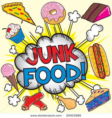 450x470 Cartoon Version Junk Food)!!! Junk Food And Foods