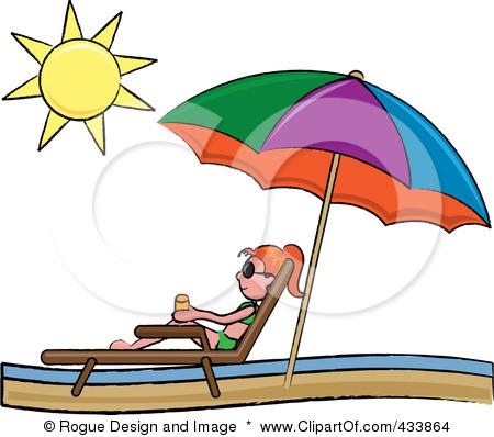 450x398 Clip Art Beach Umbrella And Chair Clipart
