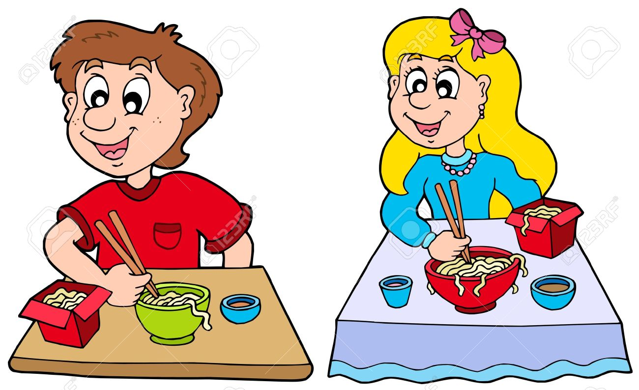 1300x794 In A Restaurant Clipart