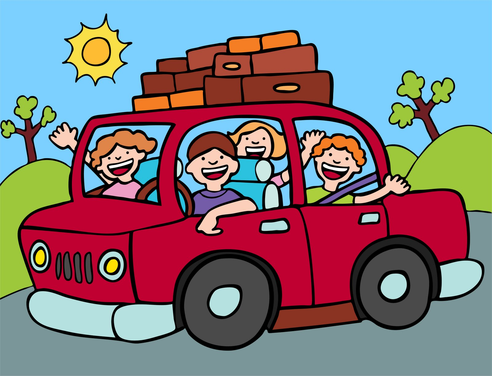 1600x1222 Car Road Trip Clip Art I Need A Vacation. What About You Check