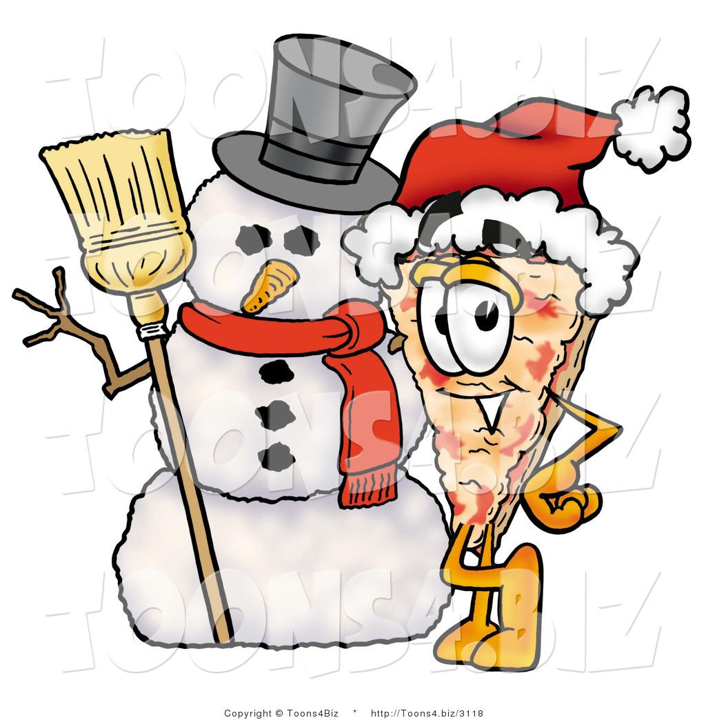 1024x1044 Snowman Clipart Pizza