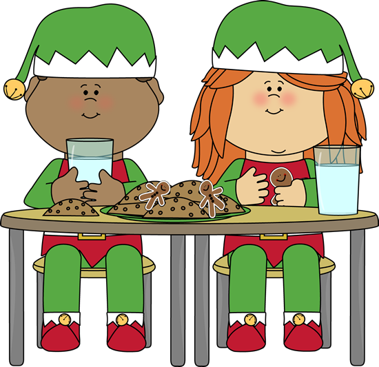 550x533 Snack Clipart Christmas
