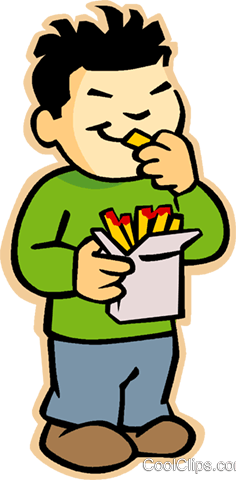 236x480 Snack Clipart Kids Eat
