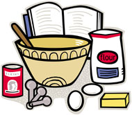 190x166 Baking Clipart Home Economics