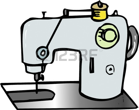 450x357 5,952 Sewing Machine Stock Vector Illustration And Royalty Free