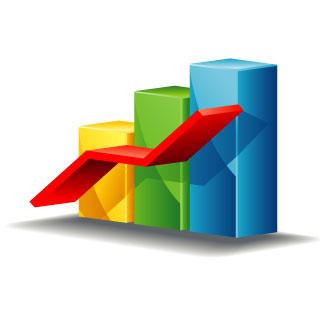 324x324 Chart Clipart Stock Market Graph