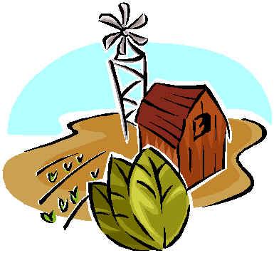 385x355 Farm Clipart Traditional Economy
